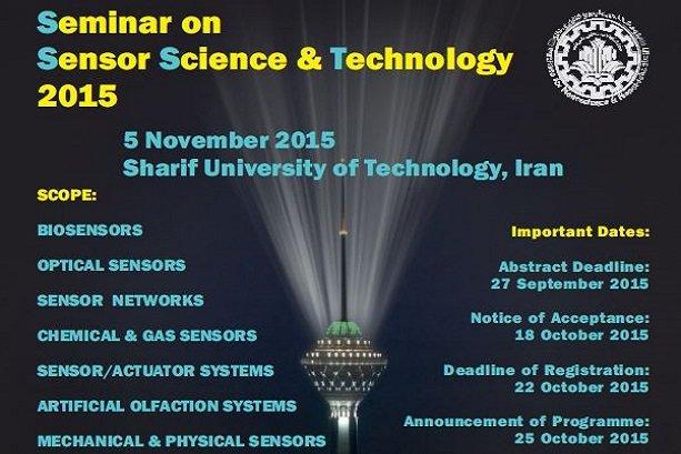Tehran to host seminar on sensors