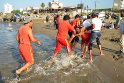 کشف جسد مجهول الهویه در ساحل بهشهر