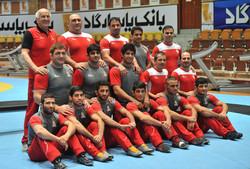 Iran's national wrestling team departs for US