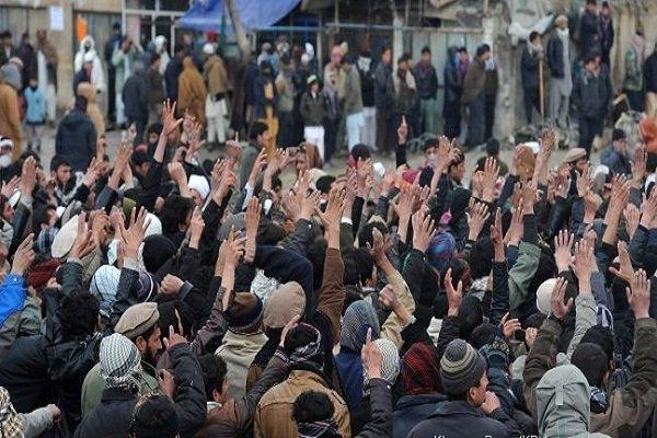 تظاهرات فرماندهان جهادی افغانستان علیه پاکستان و آمریکا