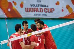 جام جهانی ژاپن- تیم ملی والیبال ایران