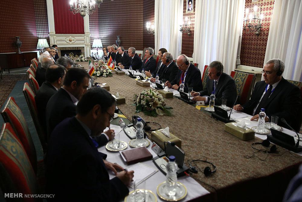 مذاکرات هیاتهای عالیرتبه ایران و اتریش