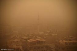 مشرق وسطی میں ریت کا شدید طوفان