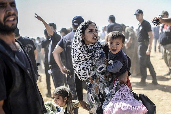 ڕاکردنی سهدان ژن و منداڵ له دواین ناوچهی ژێر دهستی داعش
