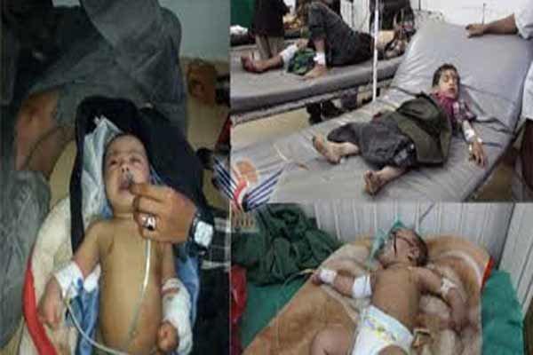 14 شهيدا بينهم أطفال بغارات سعودية على اليمن
