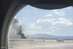إصابة ستة أشخاص في حريق طائرة بوينغ 737 بعد هبوطها في سوتشي