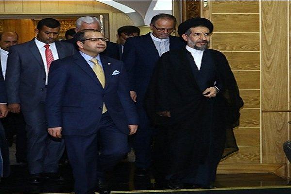 رئيس مجلس النواب العراقي يبدأ زيارة الى ايران
