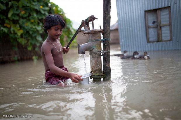 بنگلہ دیش میں بارشوں سے ہلاکتوں کی تعداد 34 تک پہنچ گئی