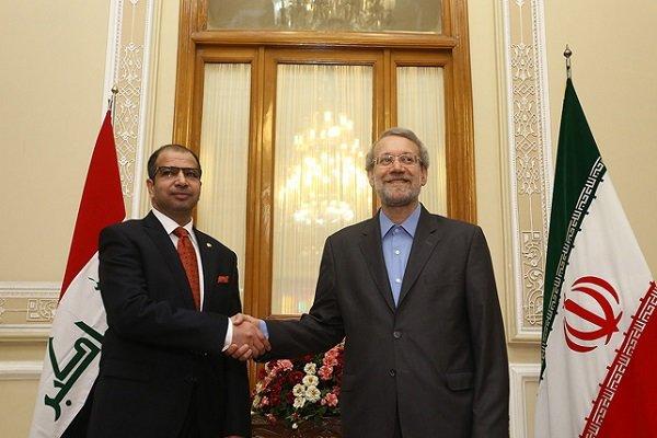 لاريجاني : بحثنا طلب الحكومة العراقية في التصدي للارهابيين