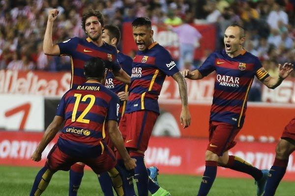 فیلم/ خلاصه دیدار تیم های فوتبال بارسلونا - لوانته