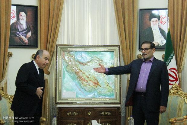 دیدار وزیر خارجه برزیل با دبیر شورای عالی امنیت ملی