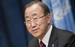 Ban confirms Palestinians' suffering in Gaza Strip
