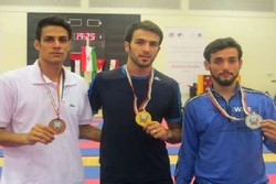Karatekas shine in West Asian Karate competitions