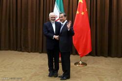 Zarif meets Chinese counterpart