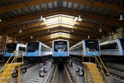 بهره برداری از 74 واگن مترو و 80 تاکسی هیبریدی