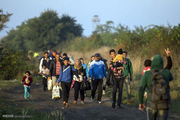 بسته شدن مرزها به روی مهاجران