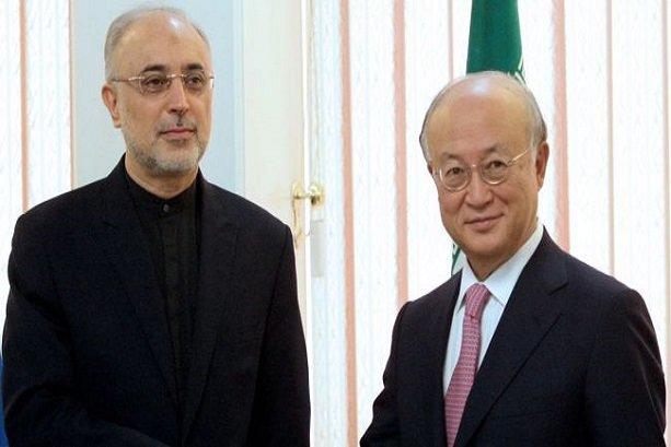 Amano, Salehi discuss implementation of JCPOA