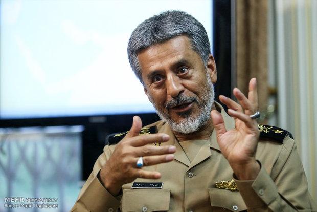 قائد البحرية الايرانية : قدراتنا الصاروخية عالية ونصنع ما نحتاجه