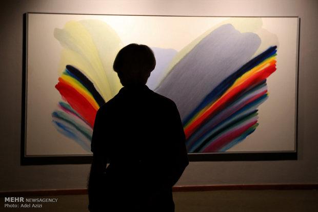 مراسم افتتاح نمایشگاه ذهنیت ملموس