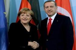 رئیسجمهوری ترکیه با صدراعظم آلمان گفتگو کرد