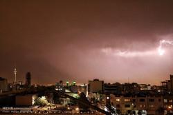رعد و برق و وزش باد در انتظار استانهای کشور/ آسمان تهران فردا ابری است