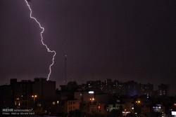 پیش بینی بارش تگرگ و وقوع رعد و برق درچهارمحال و بختیاری