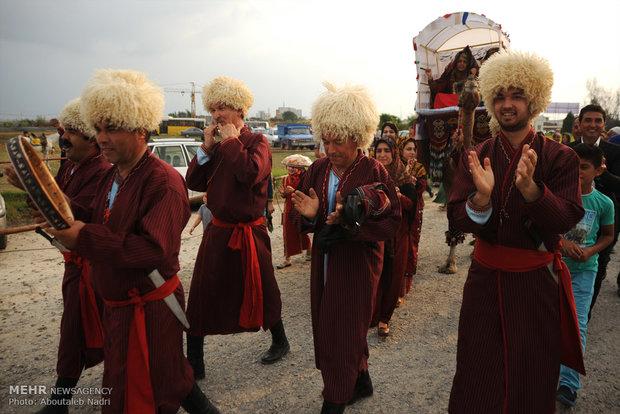 افتتاح المهرجان التاسع للقوميات الايرانية