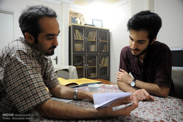 علیرضا باقری کاریکاتوریست ناشنوا گرگان