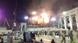 الدفاع المدني السعودي يسيطر على حريق قرب الحرم المكي