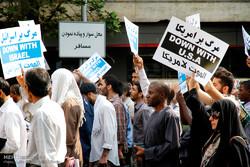 راهپیمایی مردمی در محکومیت هتک حرمت مسجد الاقصی