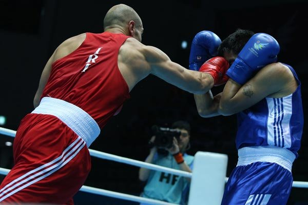 Iranian boxer comes 3rd at China Open Tournament