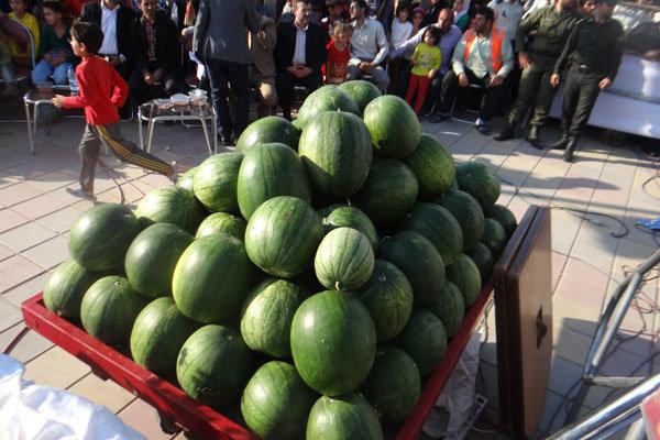 برای تولید هرکیلو هندوانه چقدر آب مصرف می شود؟