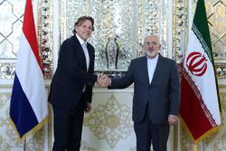 کنفرانس خبری وزرای امورخارجه ایران و هلند