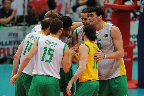 تیم ملی والیبال استرالیا, لیگ ملت های والیبال, اردبیل