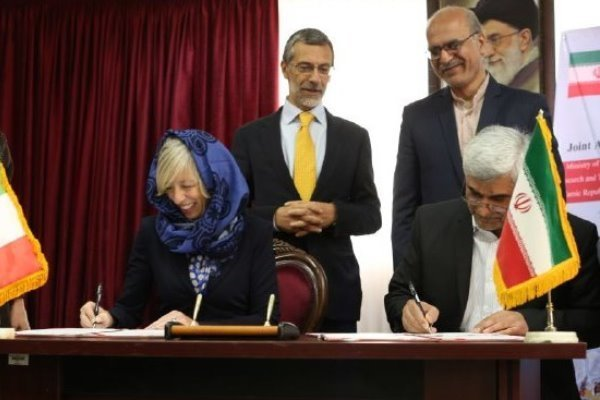 Tehran, Rome ink scientific, academic coop. deal