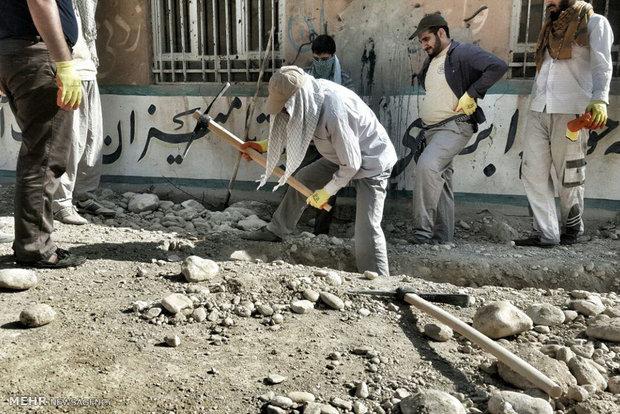 اردوهای جهادی توقعات اضافه خانوادهها را تعدیل میکند
