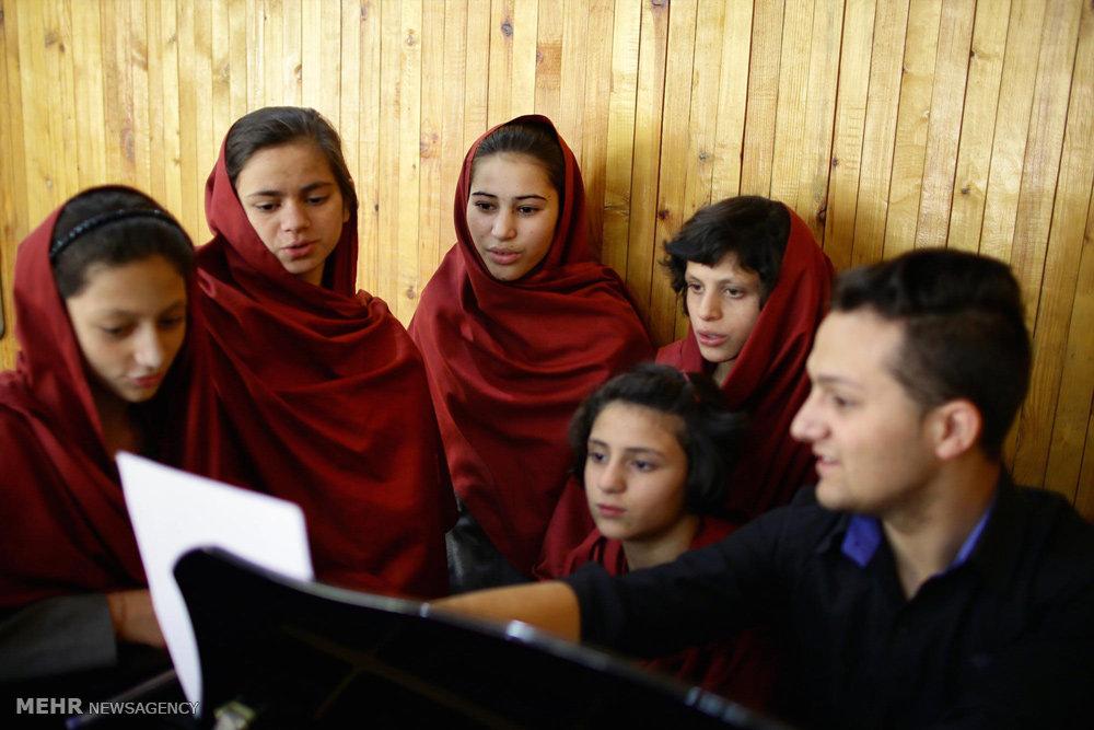 آموزش موسیقی در افغانستان