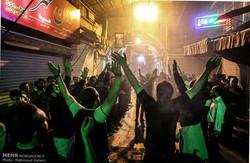 استان تهران رنگ ماتم به خودگرفت/حماسه عزاداران حسینی درقبله تهران