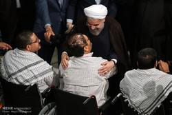 President honors war-disabled veterans