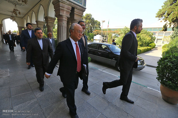 Amano attends JCPOA Special Commission session