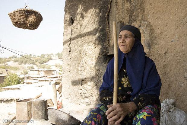 قرية سرنجلك في ايران