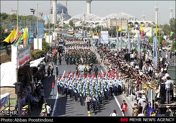 İran'ın en son füze getirileri askeri geçitte sergilenecek