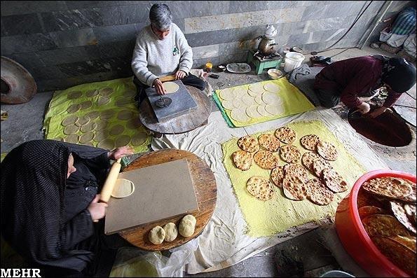 فیلم/ نان فتیر سوغات خوش عطر و طعم شهر اراک