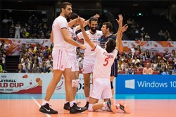 Iran stomps Egypt in FIVB World Cup