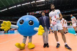 Iranian v-baller 2nd best blocker in World Cup