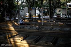 آئین برگزاری دعای عرفه در مزار شهدا بهشت زهرا(س)