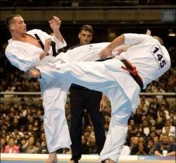 برگزاری مسابقات کیوکوشین کاراته ماتسوشیما غرب کشور در قصرشیرین