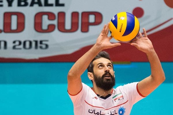 Voleybol maçlarında İranlı milli pasörden muhteşem gösteri