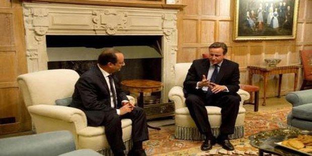 فرنسا وبريطانيا تؤكدان ضرورة تفعيل الحل السياسي في سورية