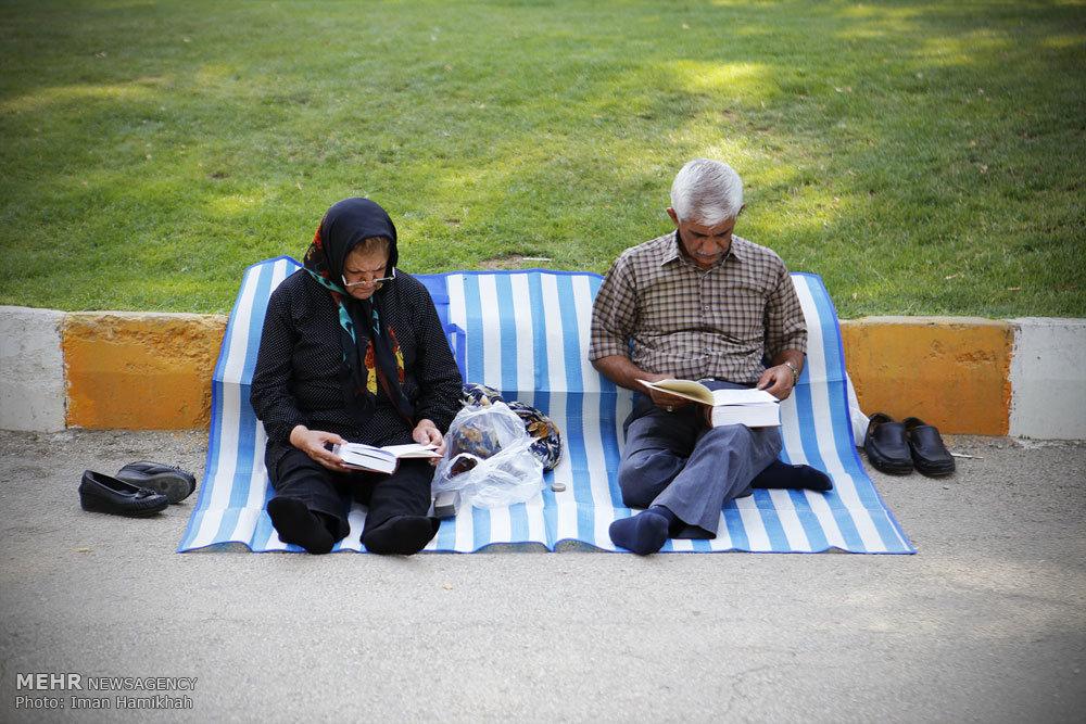 مراسم دعای عرفه در سراسر کشور (تصاویر) , مجله مراحم, morahem.com